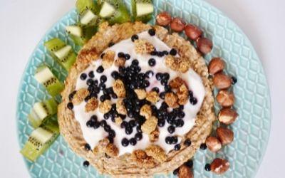 Vegan ontbijtpizza recept