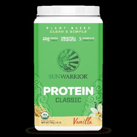 Sunwarrior classic proteine eiwitten vanille 750 gram