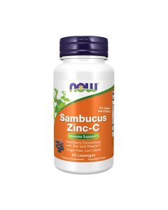 NOW - Sambucus Zinc-C - 60 lozenges