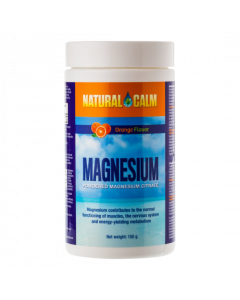 Natural Calm Orange magnesium poeder 150 gram
