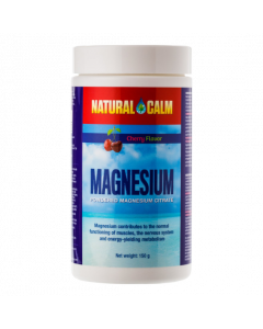 Natural Calm Cherry magnesium poeder