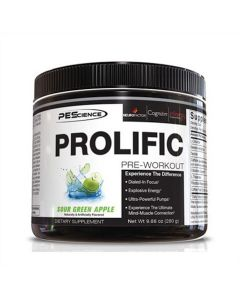 PES - Prolific Pre-Workout - Green Apple - 40 Doseringen