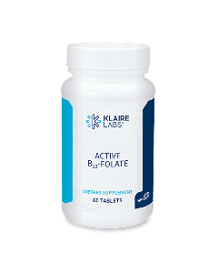 Klaire Labs Active B12-Folate 60 tabletten