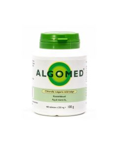 Algomed® - Chlorella 100g / 400 tabletten (250mg)