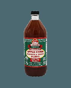Bragg apple cider azijn met honing - 473 ml