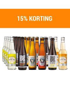 Kombucha addict bundle - 24 Flessen - 3 merken - 6 smaken