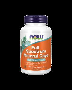 NOW - Full Spectrum Mineral Caps - 120 veg caps