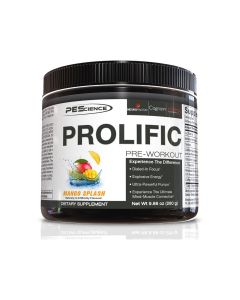 PES - Prolific Pre-Workout - Mango - 40 Doseringen