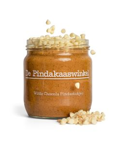 Pindakaas - Witte Chocolade - 420ml