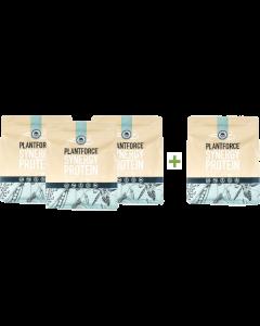 Plantforce - Synergy Proteïne Vanille - 800 g - 3+1 gratis