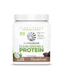 Sunwarrior - Clean Greens & Protein - Chocolade - 175 g