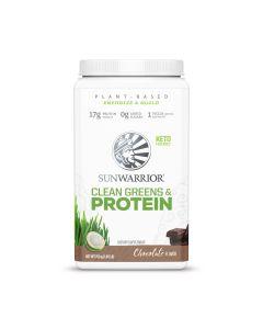 Sunwarrior - Clean Greens & Protein - Chocolade - 750 g