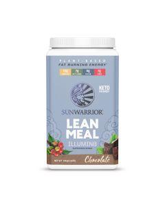 Sunwarrior - Lean Meal Illumin8 - Chocolade - 720 g