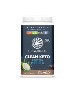 Sunwarrior - Clean Keto Proteine Peptides - Chocolade - 720 g