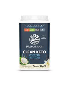 Sunwarrior - Clean Keto Proteine Peptides -  Vanille - 720 g