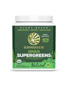 Sunwarrior - Bio Ormus Supergreens - Naturel - 450 g