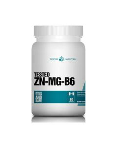 Tested - ZN-MG-B6 - 90 caps.