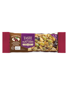 Taste of Nature dark chocolate cherry biologisch 40 gr
