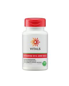 Vitals - Vitamine B12 - 100 Zuigtabletten (2000 mcg)