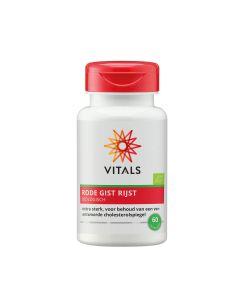 Vitals - Rode Gist Rijst Biologisch - 60 caps.