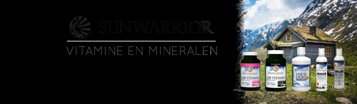 sunwarrior vitamine en mineralen