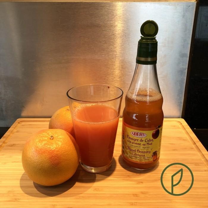 appelazijn met grapefruit en honing