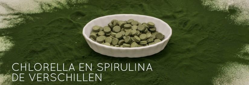 chlorella spirulina