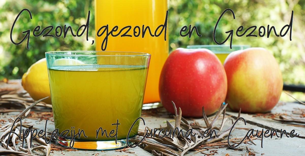 appelazijn met curcuma en cayenne