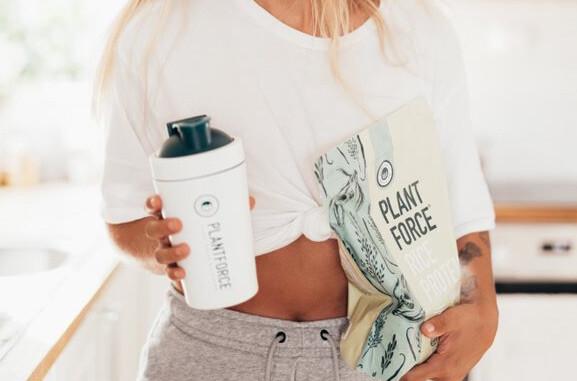 plantforce vegan rijstproteïne
