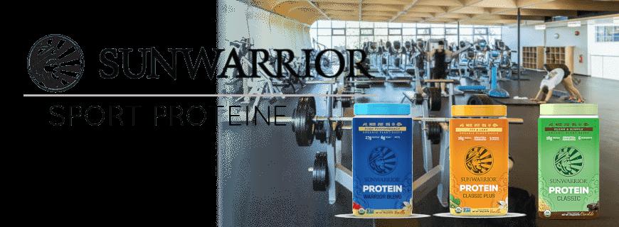 sunwarrior sport proteine