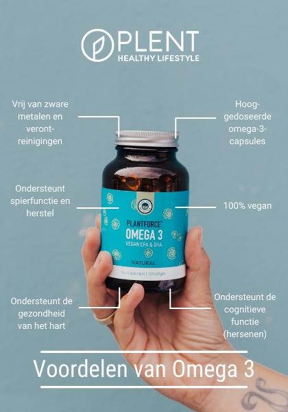 voordelen vegan omega 3 plantforce