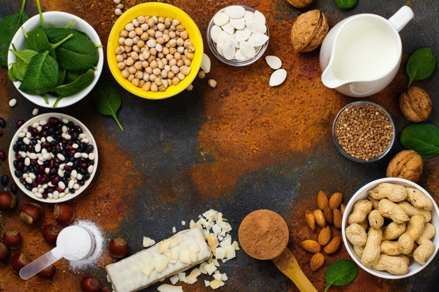 vegatarische eiwitbronnen
