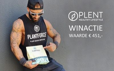 WINACTIE: Een jaar voorraad vegan proteïne en magnesium van Plantforce